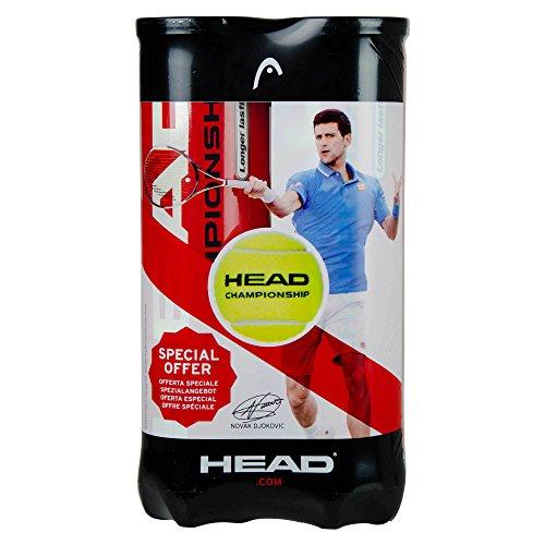 Head Championship 2 x 4er Dose Bi Pack Pelotas de Tenis 8...