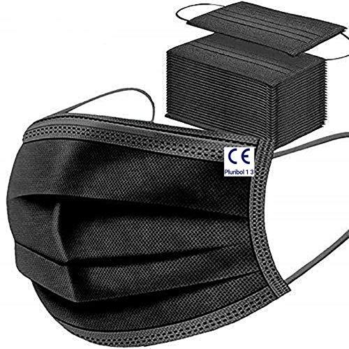 MaNMaNing Protección 3 Capas 200 unidades Transpirables con Elástico para Los Oídos 20200702-MANING-X200