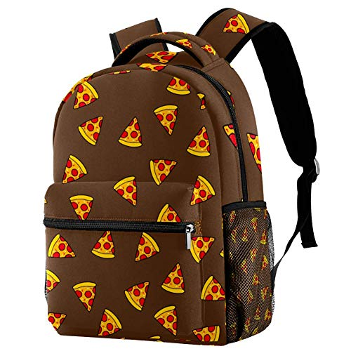 imobaby Kid Backpack Fruit Pizza Slices Casual Daypack Large Travel Bags School Bookbags for Girl...