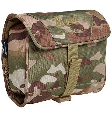 Brandit Toiletry Bag Tactical camo, Größe medium