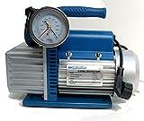 Vakuumpumpe 70 L/min 2 STUFIG mit elektrischem Ventil 1/3HP UNTERDRUCK