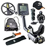 MX Sport Whites Waterproof Metal Detector Geared UP Bundle