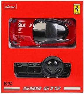 Rastar 1:32 Ferrari 599 GTO Toy Car, Red/Black, 60400