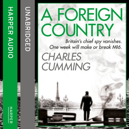 A Foreign Country                   By:                                                                                                                                 Charles Cumming                               Narrated by:                                                                                                                                 Jot Davies                      Length: 9 hrs and 30 mins     303 ratings     Overall 4.3