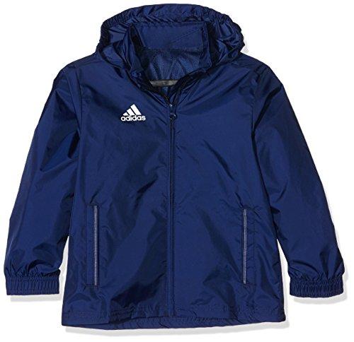 adidas Kinder Jacke/Anoraks Coref rai jkty Regenjacke, Dark Blue/White, 152