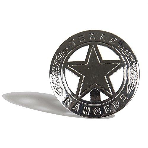 PARRIS CLASSIC QUALITY TOYS EST. 1936 Texas Ranger Badges