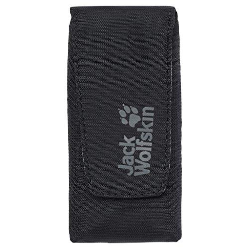 Jack Wolfskin Smartphonehülle Phone Cache, Black, 7.4 x 10.1 x 6.1 cm, 0.1 Liter