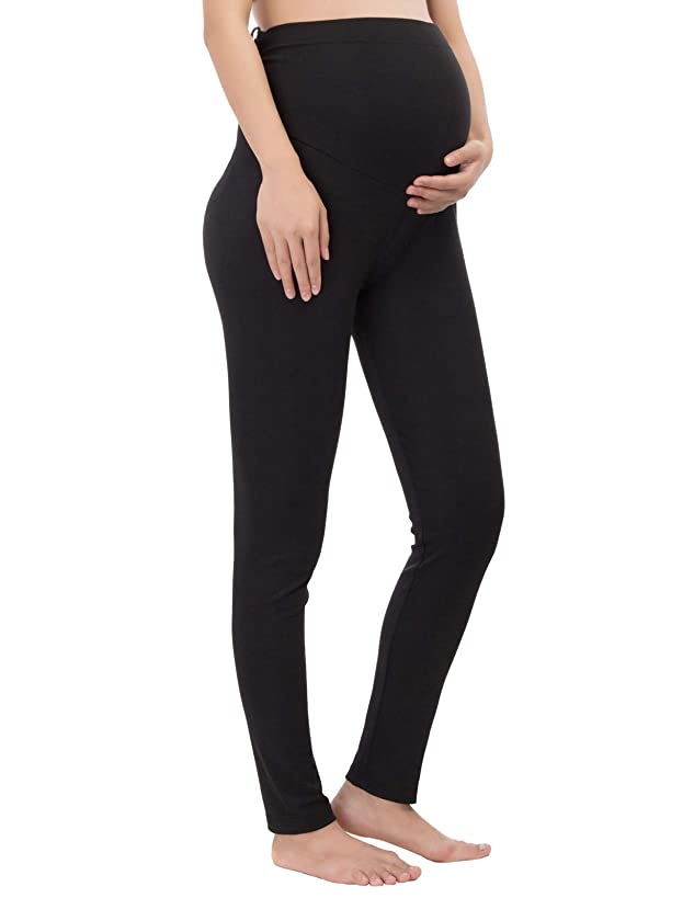 Pregnant Women Maternity Stretchy Tights Over-The-Belly Leggings Pants