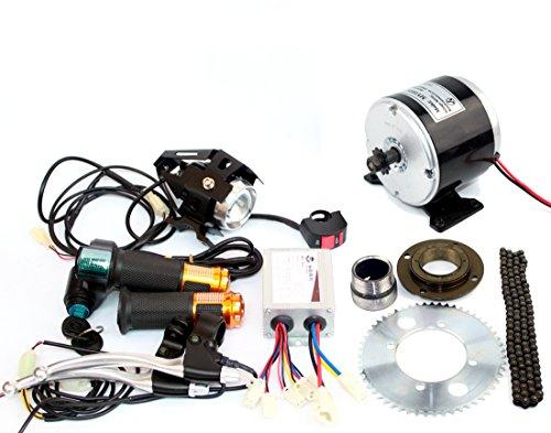 L-faster 24V36V 350W pequeño motor eléctrico sin transmisión de cadena de la...