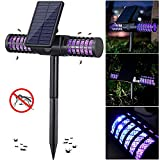 Mosquito Killer Lamp - Solar Powered/USB Charging LED Outdoor Mosquito Pest Bug Zapper