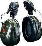 3M PELTOR H520P3A-410-GQ - Optime II Orejeras para casco Verdes 30 dB (1 orejera/caja)