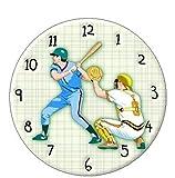 CydAgnF Pintura Digital De Bricolaje Kits Reloj De Pared Regalo De Pintura Al Óleo para Adultos Niños Pintura por Número Kits Decoraciones para El Hogar40X50Cm