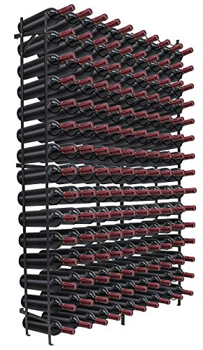 Sorbus Wine Rack Free Standing Floor Stand - Racks Hold 150 Bottles of Your Favorite Wine - Large Capacity Elegant Wine Storage for Any Bar, Wine Cellar, Kitchen, Dining Room, etc