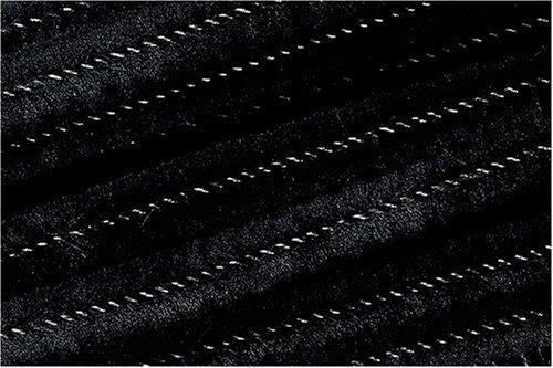 Knorrprandell 8476616 Souple au Peluche, 50 cm x 8 mm de diamètre, Noir