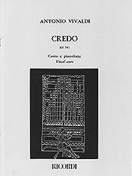 Vivaldi : Credo RV591 per Coro a 4 voci miste, archi e basso continuo