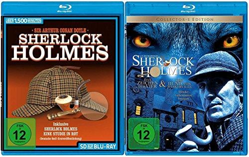Sherlock Holmes - Die große Blu-ray Collection [Blu-ray]