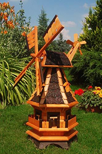 Deko-Shop-Hannusch -  Windmühle aus Holz,