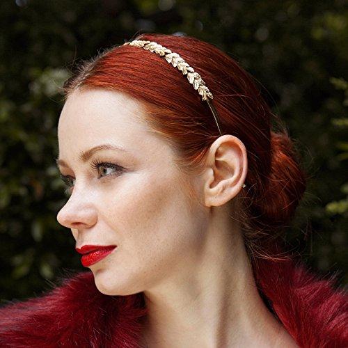 Diseño de diamantes de imitación cinta para la cabeza de