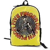 Cinco dedos muerto sacador impermeable bolsa con dos compartimentos y portátil almacenamiento hombres ajetreo mochila