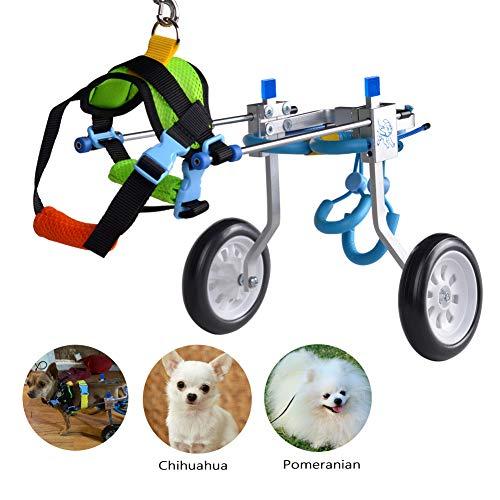 HiHydro Pet Stainless Steel Wheelchair