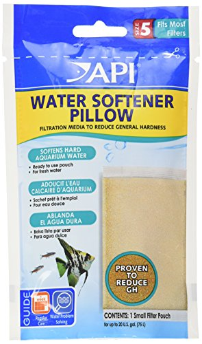 API WATER SOFTENER PILLOW Aquarium Canister Filter Filtration Pouch 1-Count Bag, size 5 (49A)
