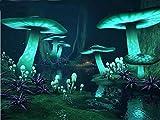 Seta Mágica Fantasía Bosque Oscuro Brillante Diy Diamante Pintura Punto De Cruz Bordado Diamantes De Imitación Toda Piedra Decoración Del Hogar Arte 30X40 Cm / 40X50 Cm