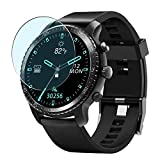 Puccy 3 Pack Anti Blue Light Screen Protector Film, Compatible with TINWOO T20W T20 1.3' Smartwatch smart watch TPU Guard ( Not Tempered Glass Protectors )