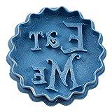 Cuticuter Eat Me Alice nel Paese delle Meraviglie, Taglia Biscotti Blu, 8 x 7 x 1,5 cm