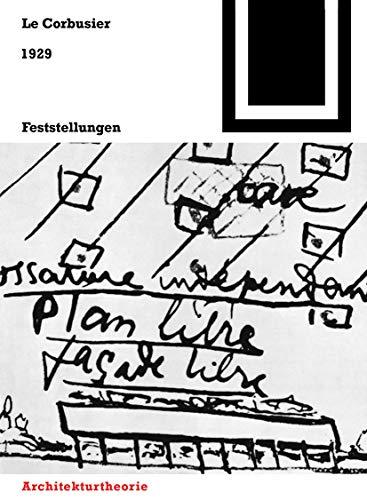 Bauwelt Fundamente, Bd.12, Feststellungen zu Architektur und Städtebau, 1929: Mit einem amerikanischen Prolog und einem brasilianischen Zusatz, ... Atmosphäre