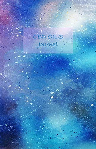 CBD Oils Journal: Undated. Track the effects of using CBD Oils on your symptoms, health problems or diseases systematically. Includes CBD Oils ... 8.5' x 5.5'. (Watercolor blue cover).