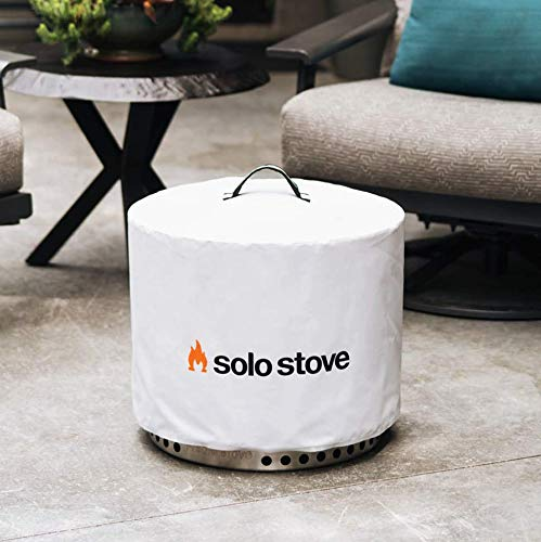 Product Image 9: Solo Stove Bonfire Backyard Bundle Includes Bonfire Fire Pit with Stand, Bonfire Shield, Carry Case, and Waterproof Shelter