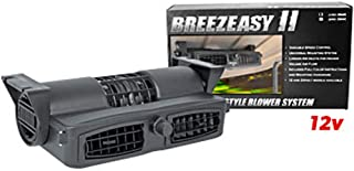Buggies Unlimited 12-Volt Breezeasy 2 Fan System for All Gas & 36-Volt Golf Carts