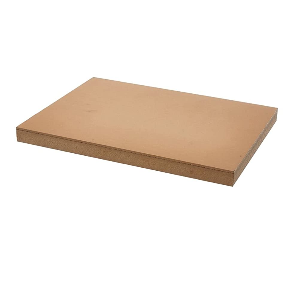 Speedball 4309 Premium Mounted Linoleum Block – Fine, Flat Surface for Easy Carving, Smoky Tan 5 x 7 Inches