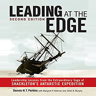 Leading at the Edge cover art