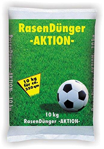 GP TONER Rasendünger 10kg Aktionsdünger Grasdünger Dünger für Rasen