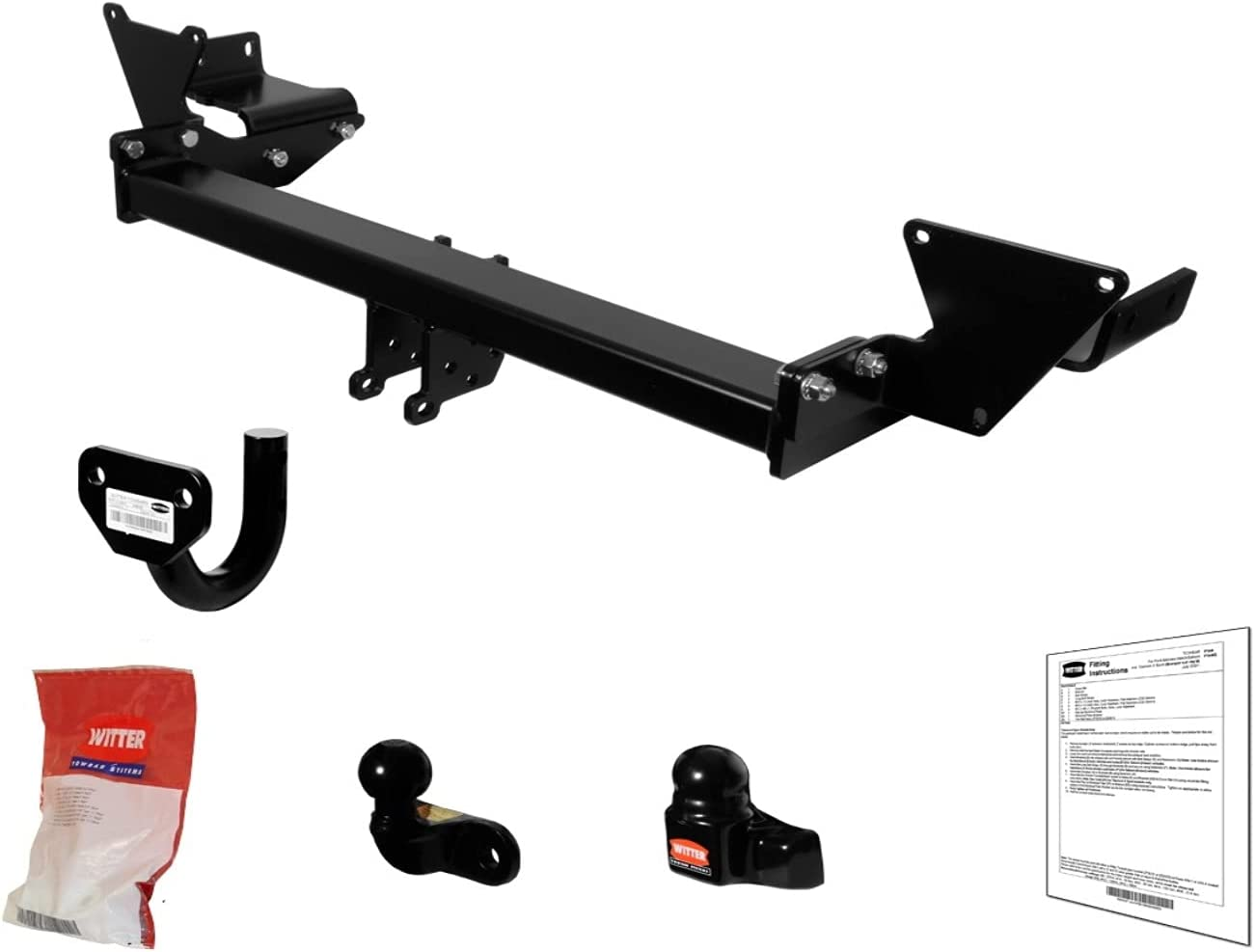 Upgradable Fixed Flange Towbar Two Max 53% online shop OFF Hole Esta for Legacy Subaru