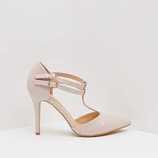 Shoexpress Zigga Women High Heel Shoes,38,Pink