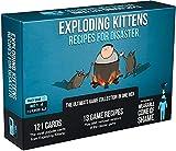 Exploding Kittens Recipes for Disaster - Juegos de Fiestas Familiares - Juegos de Cartas para Adultos, Adolescentes y niños, Azul, EKG-RFD-1