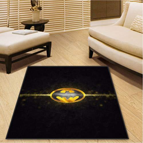 chengcheng DC Comics Justice League Teppich Schlafzimmer Kinderzimmer Foyer Anti-Rutsch-Teppich Boden Stuhl Drum Pad 180x180cm