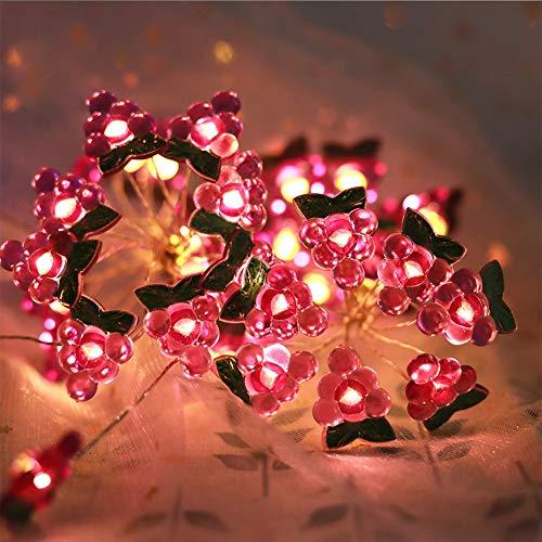 Creative Dekoration Lichterkette Traube Led String Licht Weihnachten Festival Wasserdicht Kupferdraht 9.8FT 30LED AAAA+++++