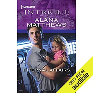 Internal Affairs     Harlequin Intrigue Series              By:                                                                                                                                 Alana Matthews                               Narrated by:                                                                                                                                 Connie Terwilliger                      Length: 5 hrs and 37 mins     61 ratings     Overall 3.5