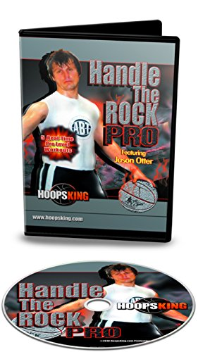 HOOPSKING Handle The Rock – Pro Basketball Dribbling Workouts – 5 einfach zu verfolgende Workouts für fortgeschrittene Spieler