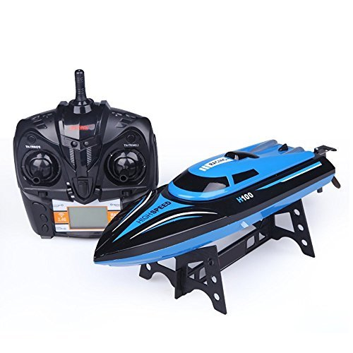 Rc Boat , ToyPark H100 4CH 2.4GHz High Speed 180 degrees turnover Electric RC Boat