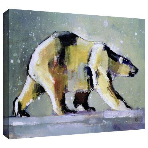 ArtWall Mark Adlington 'Ice Bear' - Lienzo decorativo (35,5 x 45,7 cm)