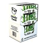 The Cheeky Panda – Pañuelo Facial de Bambú   Caja de 12 Paquetes (80 Pañuelos por Paquete, 960 Pañuelos Total)   Caja Plana, 3 Capas, Hipoalergénica, Sin Plástico, Ecológica, Súper Suave y Sostenible
