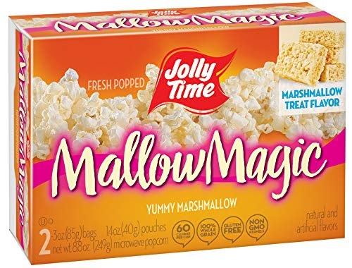 Sale!! JOLLY TIME Mallow Magic | Sweet Marshmallow Microwave Popcorn with Candy Coated Sugar Topping...