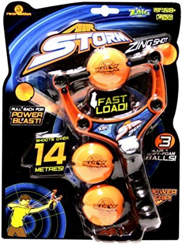 Zing Toys Air Storm Zing Shot, Orange schwarz by Zing Toys