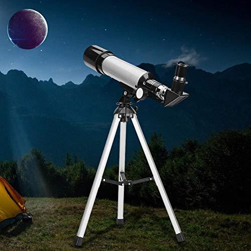 【𝐂𝒚𝐛𝐞𝐫 𝐌𝐨𝐧𝐝𝐚𝒚】Telescopio para niños, niños Principiantes, niños pequeños, telescopio astronómico, telescopio para Principiantes, observación de Estrellas Lunares, montañismo de plástico par