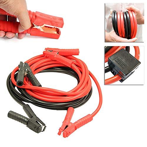 Fscm Cable de Arranque, Cable de Arranque, Cable de Arranque, Cable de Puente, batería de Coche, para 12 V/24 V con protección contra sobretensiones
