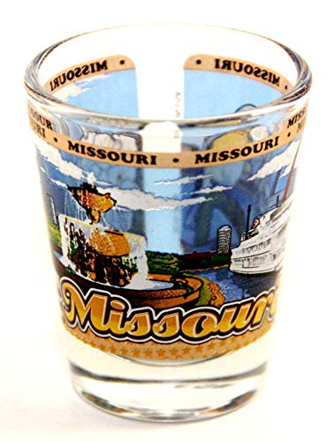 Missouri State Wraparound Shot Glass